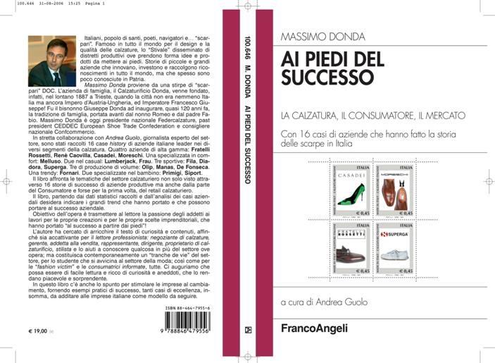 """Copertina del libro """"Ai piedi del successo"""""""