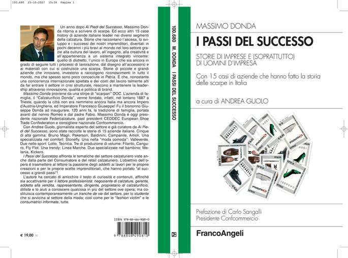 """Copertina del libro """"I passi del successo"""""""