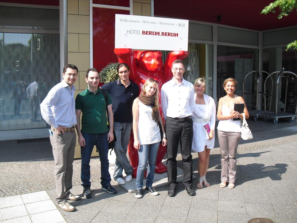 Foto dei partecipanti a Berlino