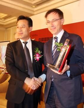 Feng Hongzhang e Massimo Donda