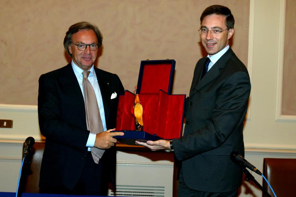Diego Della Valle e Massimo Donda