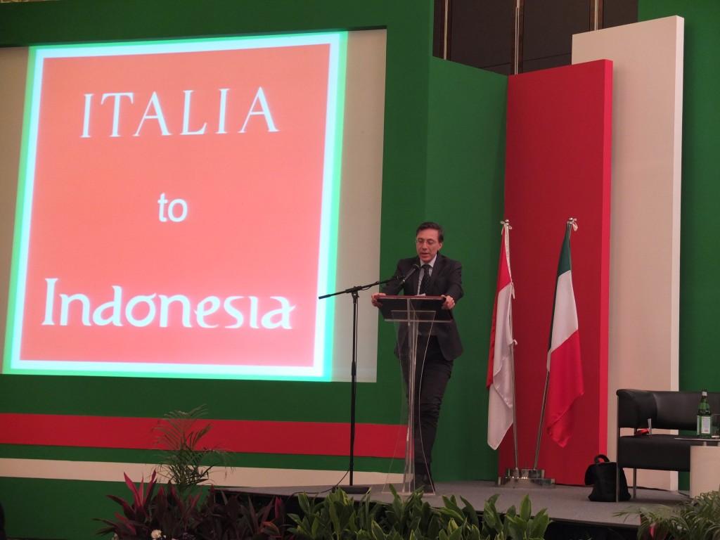 06 May 2013 Jakarta: Massimo Donda's speech
